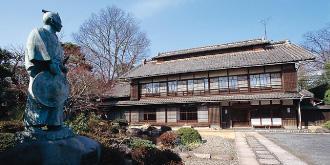 中の家(渋沢栄一生地)