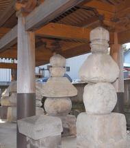 岡部六弥太墓
