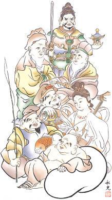 深谷七福神